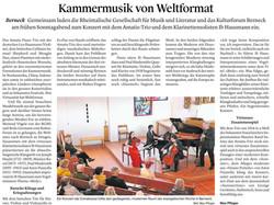 Amatis Piano Trio & Ib Hausmann