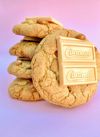 Caramac Stuffed Cookies - Box of 5