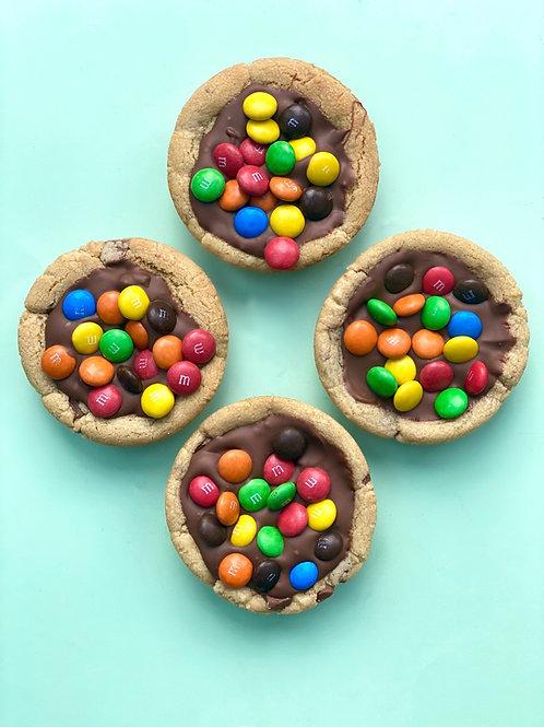 M&MS Cookie Pie- Box of 4