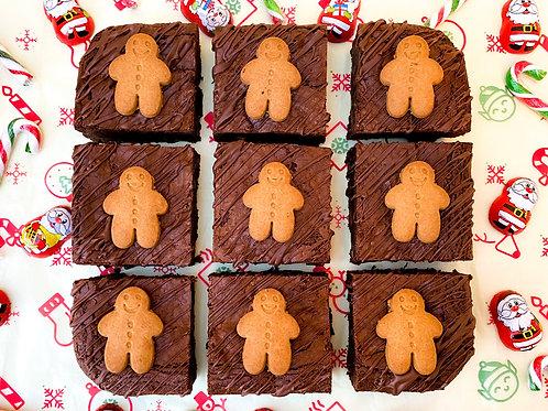 Gingerbread Brownies - box of 9