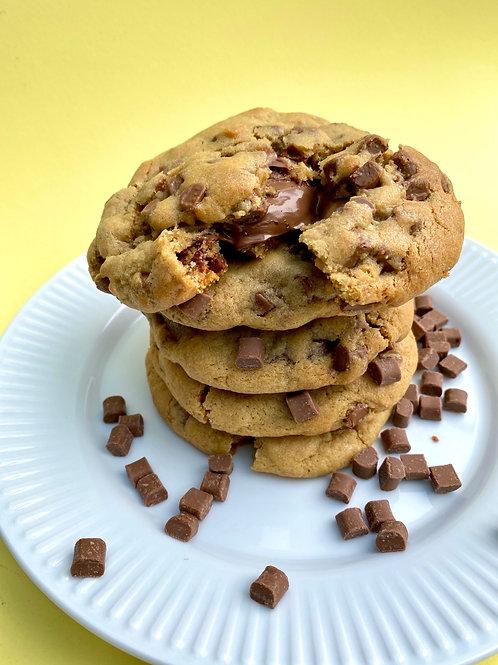 Milk Chocolate Nutella Stuffed Cookie - Box of 5
