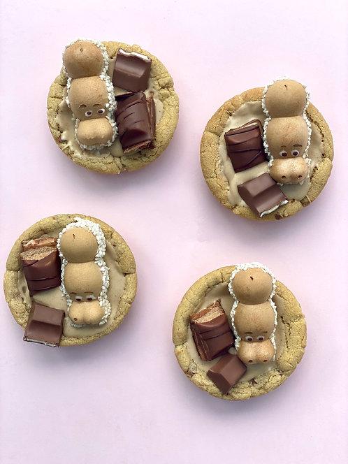 Kinder Cookie Pie- Box of 4