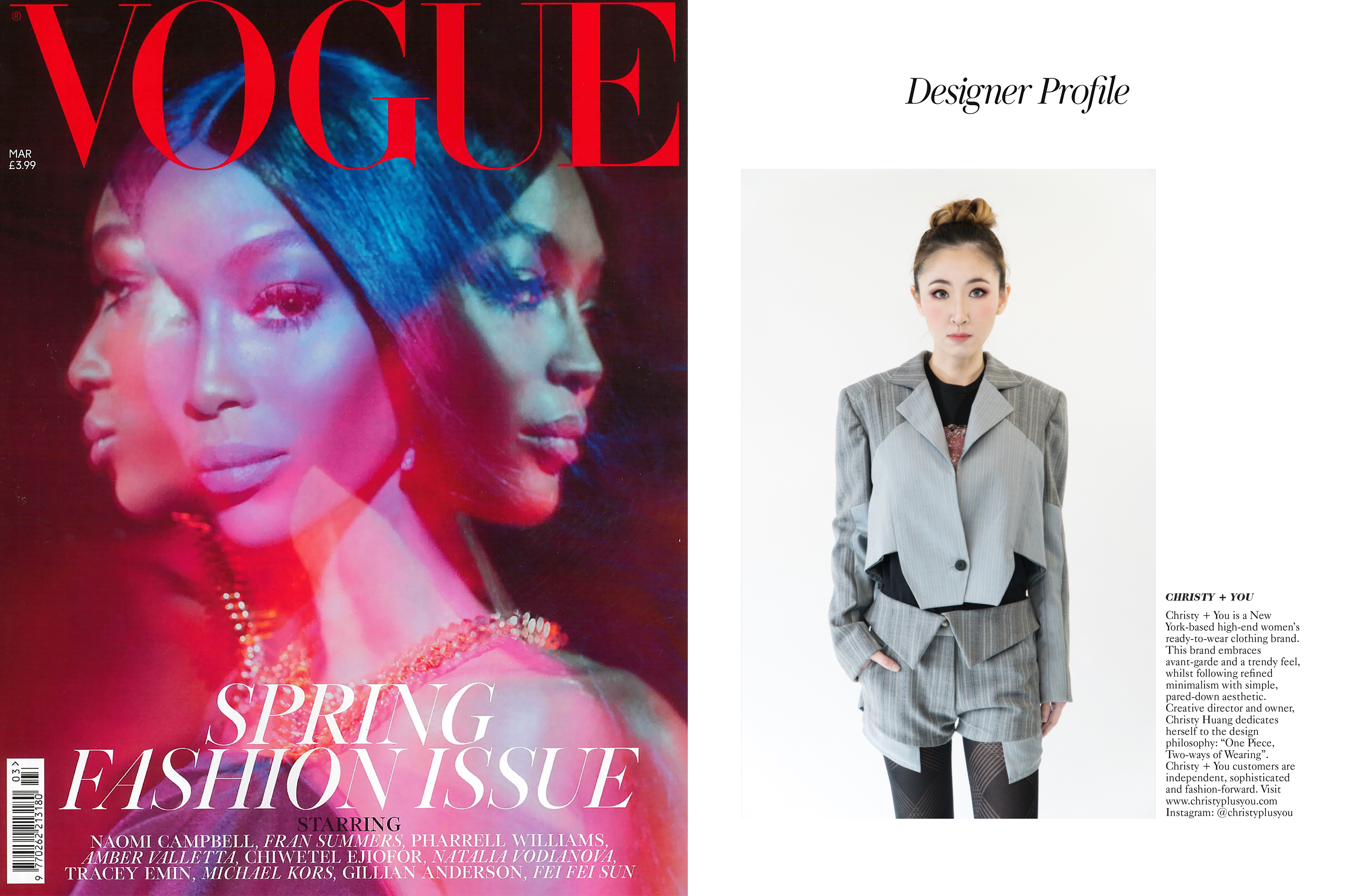 Vogue issue MAR2019 for print