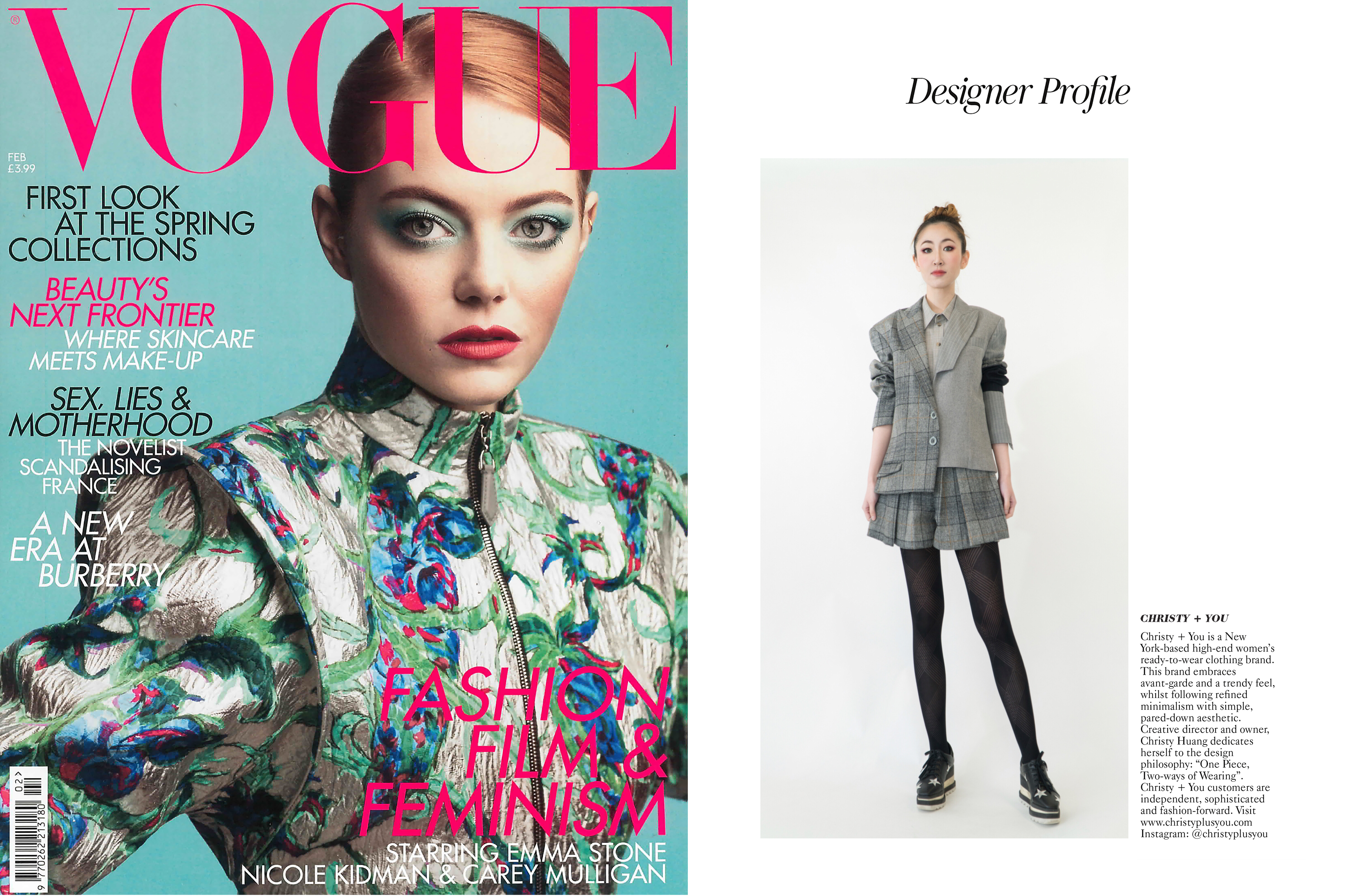 Vogue issue feb2019 for print