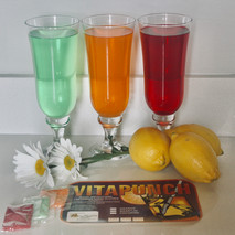 VitaPunch Cooldrink Powder and in Glasses