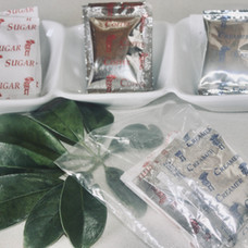Coffee, Sugar, Creamer ration pack