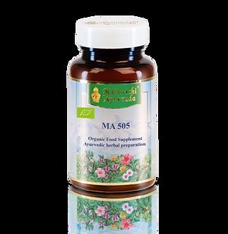 MA 505, 60 g, Triphala - gyümölcsöket tartalmazó ájurvédikus étrendkieg. tabl.