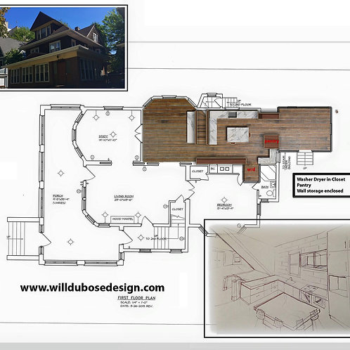 Floorplan Drawings and Design ($175 per hour)
