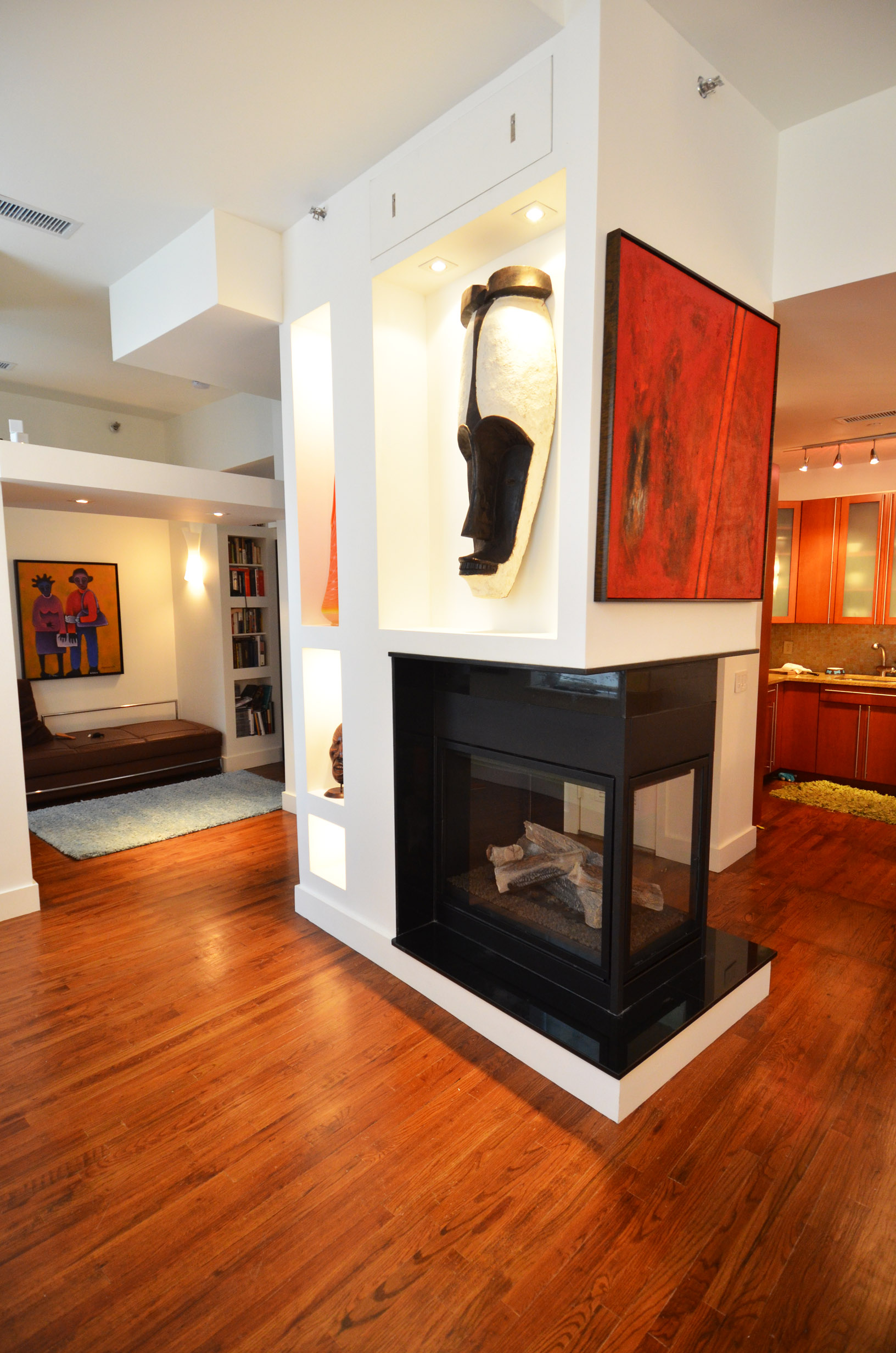Brooklyn Brownstone fireplace