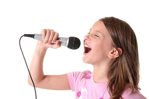 Cours de chant 4 séances 30 min.