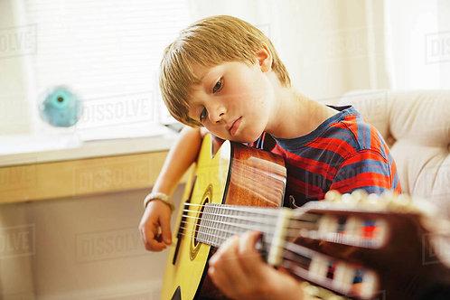 Cours de guitare 4 séances 60 min.