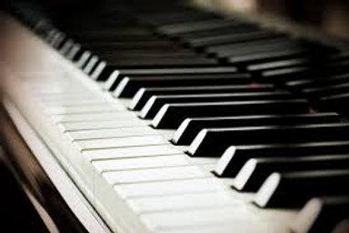 Cours de piano 4 séances 60 min.