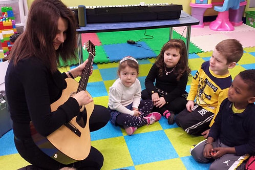 Éveil musical Individuel 2 à 4 ans