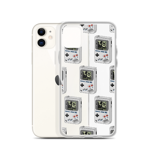 Cheat Codes iPhone Clear Case