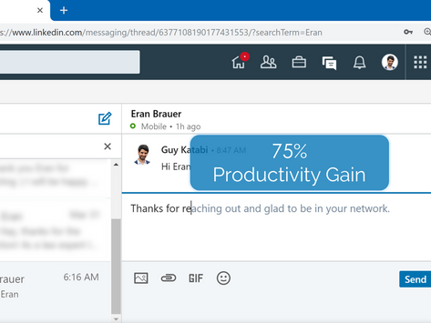 Lightkey's Native Prediction Experience Expands to LinkedIn Messenger
