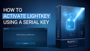 How to Activate Lightkey Using a Serial Key