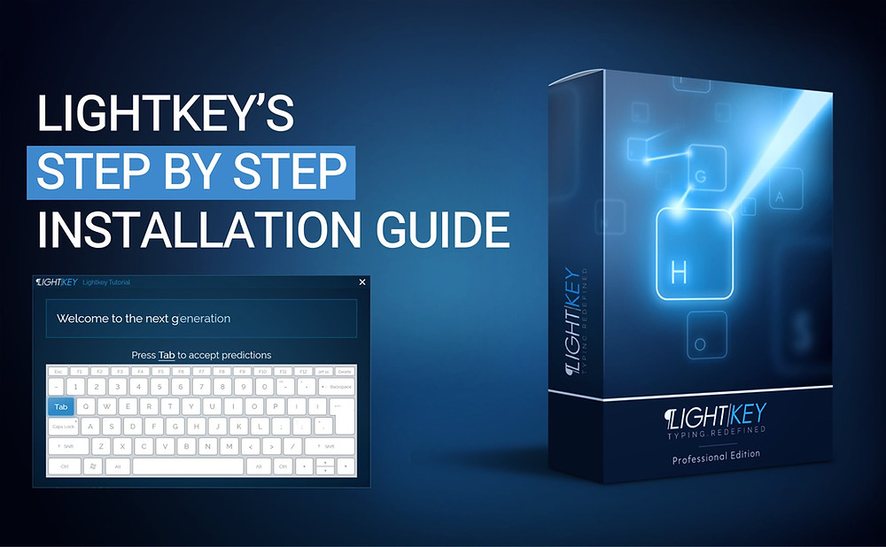 Lightkey's Step by Step Installation Guide - Lightkey is a free predictive typing / text prediction / auto-complete / word prediction / spelling correction desktop application for Word, Outlook, PowerPoint, Gmail, WhatsApp Web and more in Microsoft Windows, supporting more than 80 prediction languages.