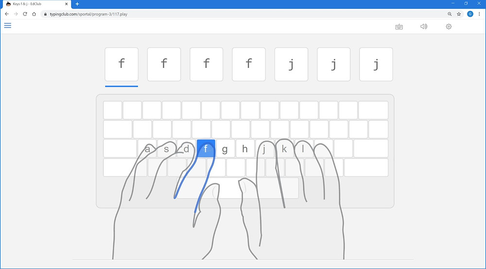The idea of touch typing is being able to type while keeping your visual focus on the screen so you won't need to look at the keyboard while typing. Otherwise, moving your visual focus back and forth between the keyboard and the screen while typing can slow things down and make the whole typing process fairly inefficient – and if this is the case for you, learning touch typing can significantly increase your typing speed and overall productivity.