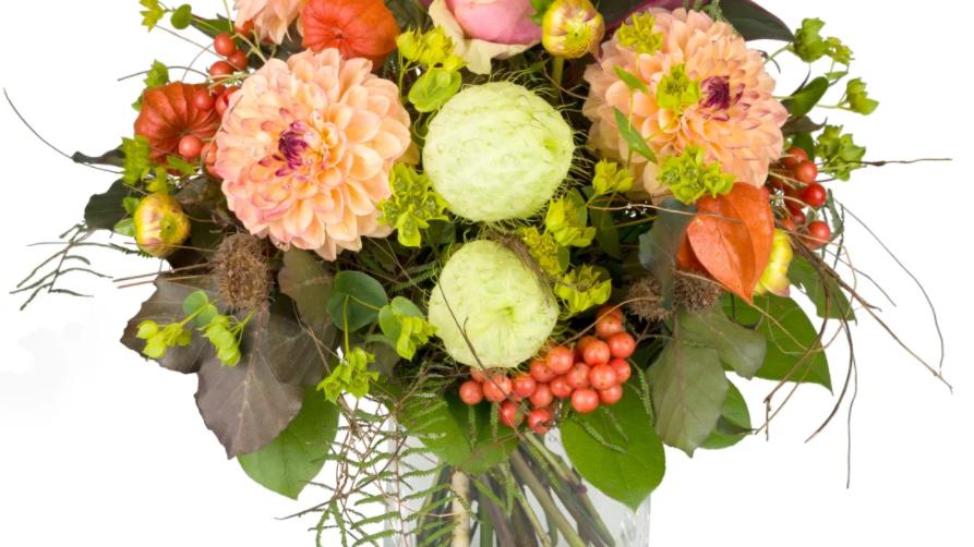 S13 - Blumenstrauss Herbstzeit