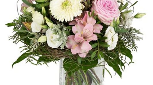 S3 - Blumenstrauss in rosa