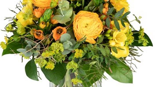 S5 - Blumenstrauss in gelb-orange