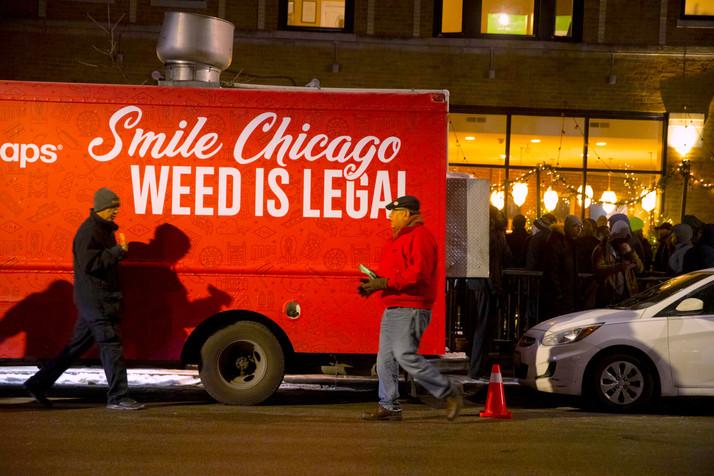 Illinois Cannabis Sales $3.2 million on Day One