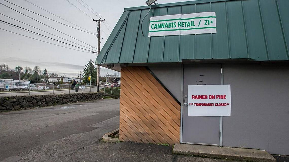Tacoma's first pot store closed for owing $1.4 million in back taxes
