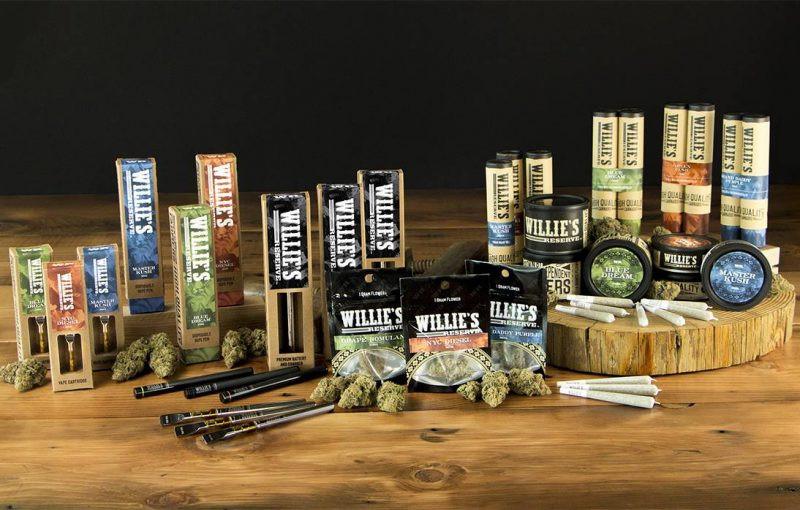 Willie Nelson's marijuana coming to California