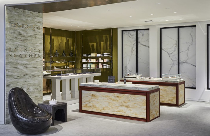 Inside the Cannabis Boutique at Barneys Beverly Hills