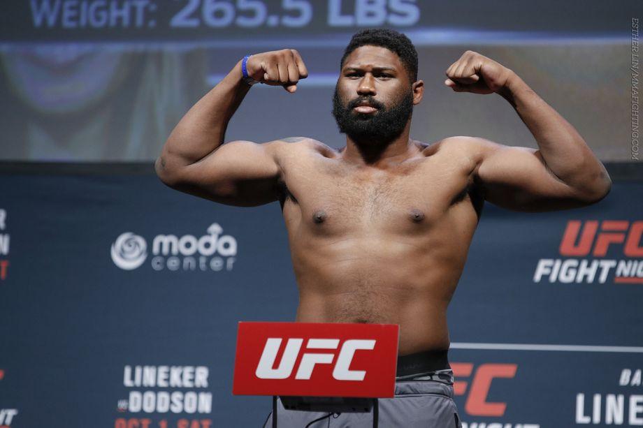 Curtis Blaydes, UFC Fighters Test Positive for Marijuana