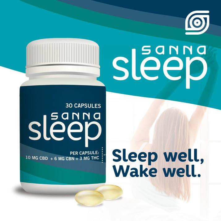 Sanna Sleep - A Unique Cannabinoid-Based Sleep Product - Launches In California