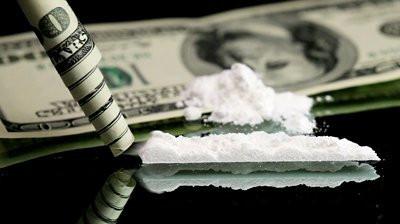 Cocaine on Money