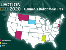 Cannabis Legalization Passes in 5 states