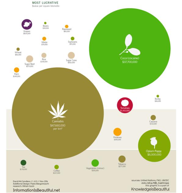 Marijuana Crop Revenues