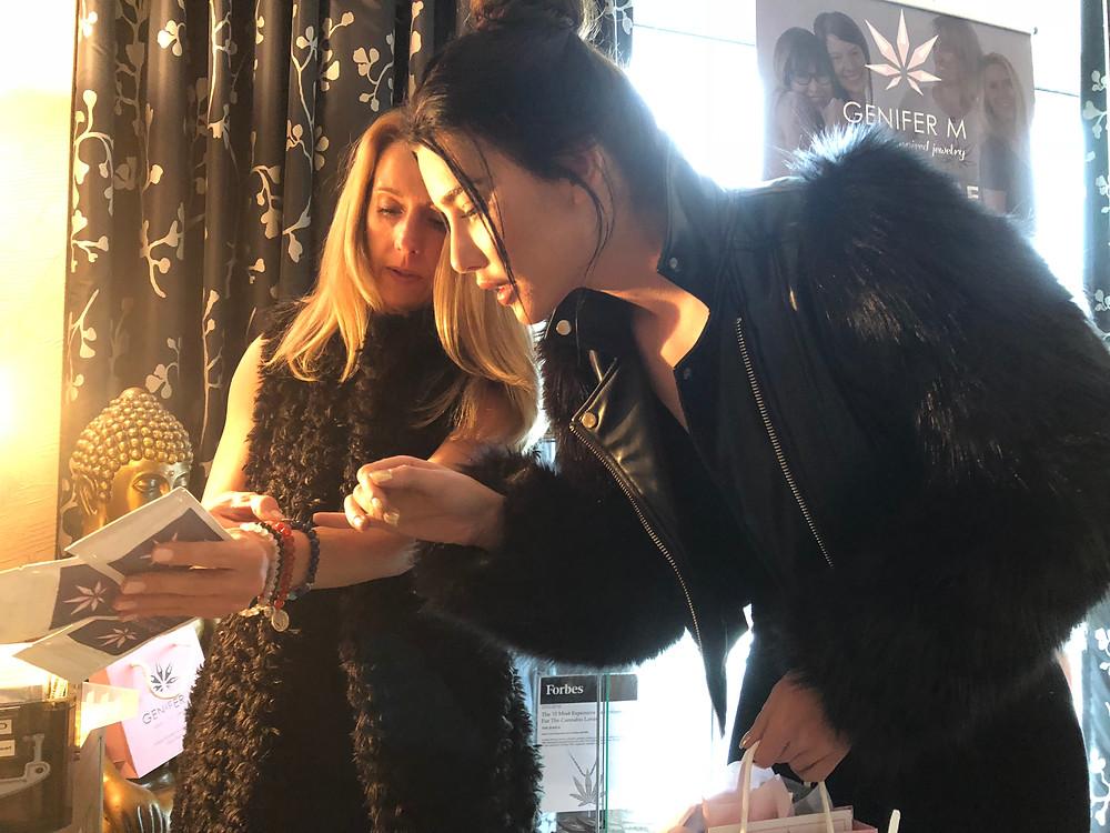 Sophia Milos Genifer M Jewelry Academy Awards Oscars