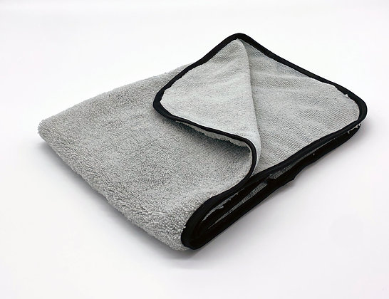 Super Soft Microfibre Cloth Grey/Black