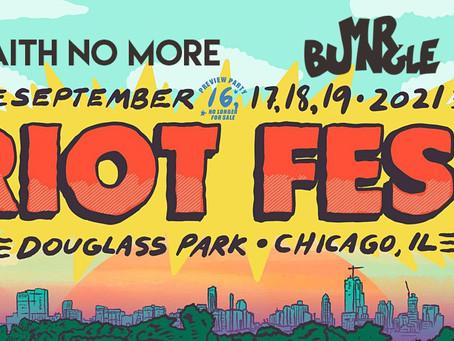 Faith No More & Mr. Bungle Riot Fest Chicago September 2021
