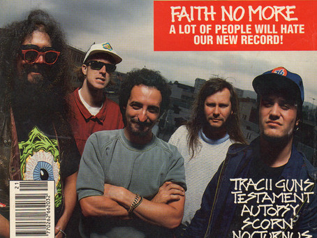 Faith No More | Kerrang! - May 23rd 1992