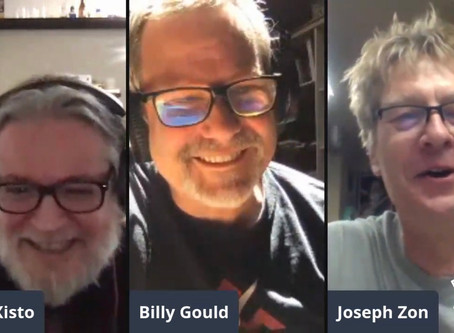 Watch Billy Gould online chat with Paulo Xisto And Joe Zon