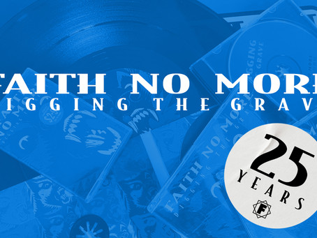 Faith No More Released 'Digging The Grave' 25 Years Ago!