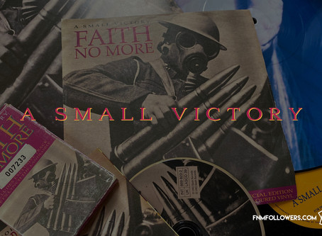 Faith No More Released The Single 'A Small Victory' 28 Years ago!