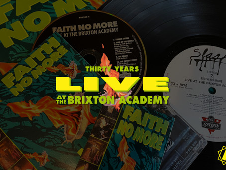 Faith No More 'Live At The Brixton Academy' 30 Years