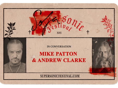 Mike Patton in Conversation with Andrew Clarke at Supersonic Festival