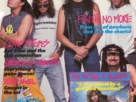 Faith No More | Kerrang! - April 28th, 1990