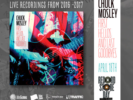Chuck Mosley Live Release For Record Store Day 2020
