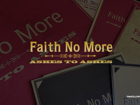 Faith No More Released 'Ashes To Ashes' 23 Years Ago!