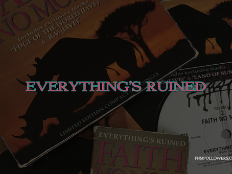 Faith No More Released The Single 'Everything's Ruined' 28 Years Ago