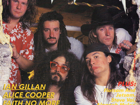 Faith No More | Metal Hammer - May 21st, 1990