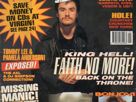 Faith No More - Kerrang! Issue 535, March 3rd 1995