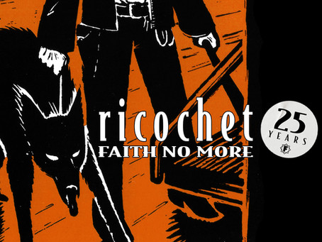 Faith No More Released The Single 'Ricochet' 25 Years Ago!